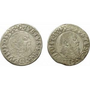 Prusy Książęce, Zestaw groszy 1543-45