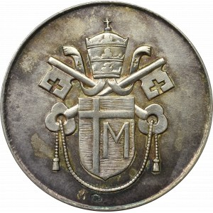 PRL, Medal Jan Paweł II - Srebro