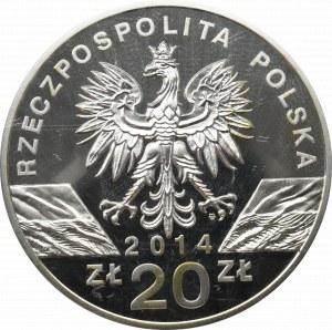 III RP, 20 złotych 2014 Konik Polski