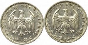 Niemcy, III Rzesza, Zestaw 1 marka