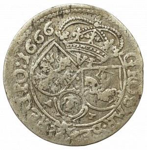 John II Casimir, 6 groschen 1666, Cracow