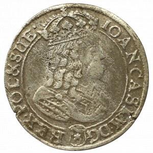John II Casimir, 6 groschen 1667, Bromberg