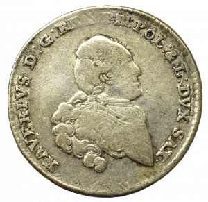 Saksonia, Ksawery, 1/6 talara 1766