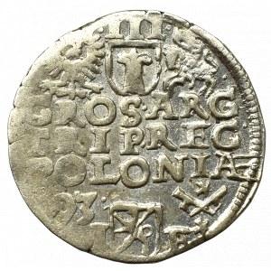 Sigismund III, 3 groschen 1593, Posen