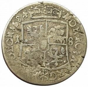 John III Sobieski, 18 groschen 1684, Bromberg