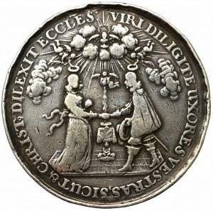 Polska, Medal ślubny na podstawie Jana Hohna