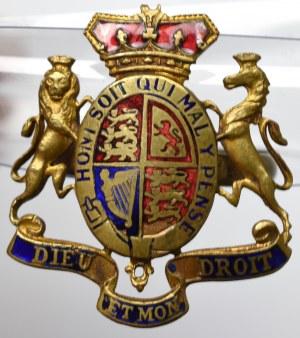 Anglia, sygnet patriotyczny z odznaką