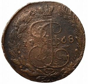 Russia, Catherine II, 5 kopecks 1768