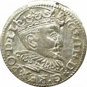 Sigismund III, 3 groschen 1595, Riga
