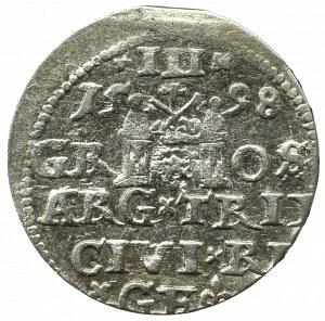 Zygmunt III Waza, Trojak 1598, Ryga