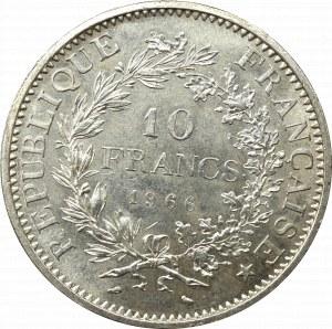 France, 10 francs 1966