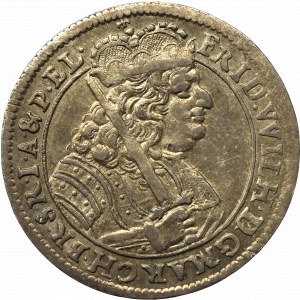 Prusy Książęce, Fryderyk III, Ort 1679 , Królewiec