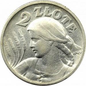 II Republic of Poland, 2 zloty 1924, Paris