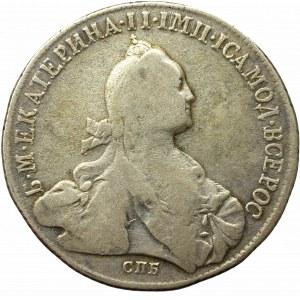 Rosja, Katarzyna II, Rubel 1773 Я-Ч