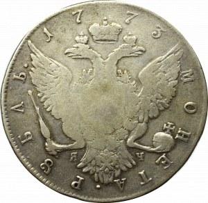 Russia, Catherine II, Rouble 1773 Я-Ч