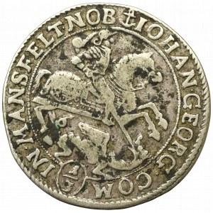Niemcy, Mansfeld-Bornstedt, 1/3 talara 1671