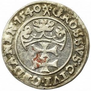 Sigismund I the Old, Groschen 1540, Danzig