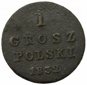 Królestwo Polskie, Mikołaj I, 1 grosz 1832