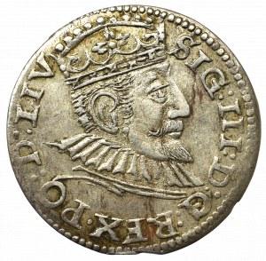 Zygmunt III Waza, Trojak 1594, Ryga - LIV