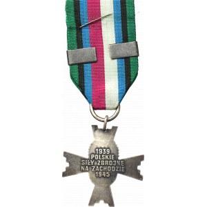PSZnZ, Krzyż czynu bojowego PSZnZ z okuciem Maiche-St. Hippolyte + legitymacja