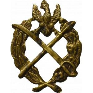 II RP, Odznaka patkowa Kawalerii (korpusówka)