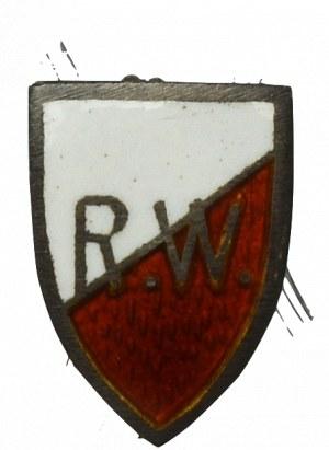 II RP, Miniatura odznaki Rodzina Wojskowa - rzadkość