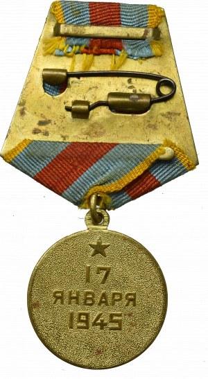 ZSRR, Medal Za wyzwolenie Warszawy