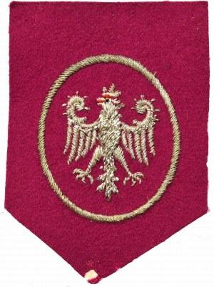 Polska, Armia polska we Francji, Naszywka z godłem