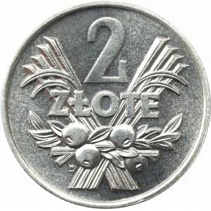 PRL, 2 złote 1970 Jagody