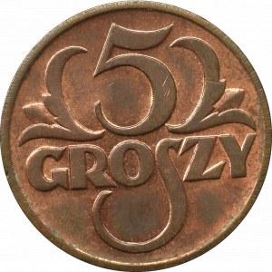 II RP, 5 groszy 1939