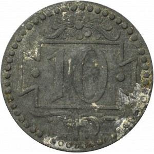 Free city of Danzig, 10 pfennig 1920