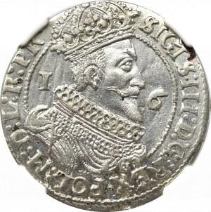Zygmunt III Waza, Ort 1625, Gdańsk - PR NGC AU58