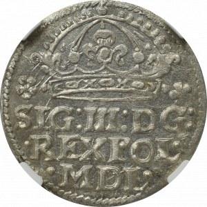 Zygmunt III Waza, Grosz 1614, Kraków - NGC MS63