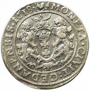 Sigismund III, 18 groschen 1618, Danzig