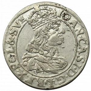 John II Casimir, 6 grosche 1661, Cracow