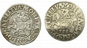 Sigismund II Augustus, Lot of halfgroats