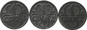 II Rzeczpospolita, Zestaw 1 groszy 1939