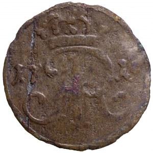 Germany, Saxony, Friedrich August, Schilling 1715, Danzig
