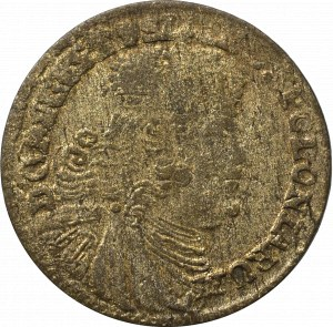 Germany, Saxony, Friedrich August II, 3 groschen 1754, Leipzig - efraim