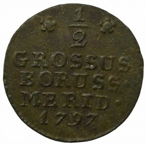 Prusy Południowe, Półgrosz 1797, Wrocław - niski monogram