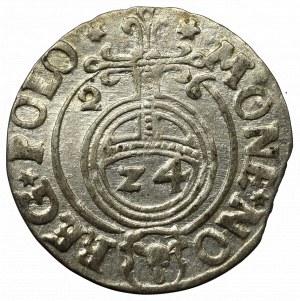 Zygmunt III Waza, Półtorak 1626, Bydgoszcz - Półkozic w tarczy typu polskiego