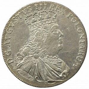 Germany, Saxony, Friedrich August II, 18 groschen 1754, Leipzig
