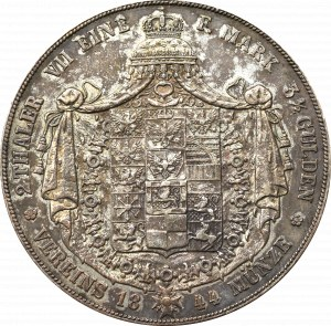 Niemcy, Fryderyk Wilhelm, dwutalar = 3 1/2 guldena 1844 A, Berlin