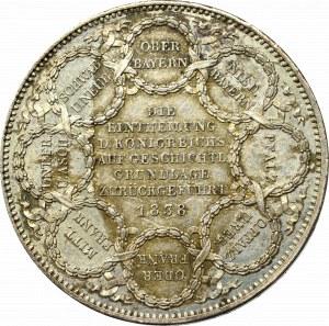 Niemcy, Bawaria, Ludwik I, dwutalar 1838