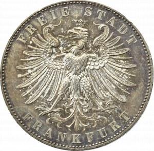 Germany, Frankfurt, Taler 1862