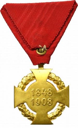 Austro-Węgry, Medal 60-lecia panowania Franciszka Józefa 1908