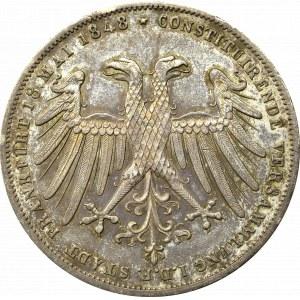 Germany, Frankfurt, Taler 1848