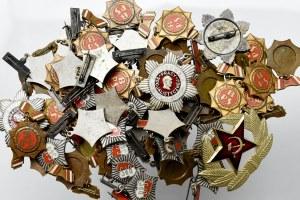 PRL, Zestaw odznak (60 egz)