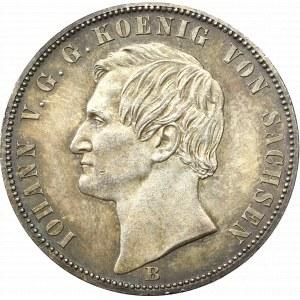 Niemcy, Saksonia, Jan, Talar 1871 B