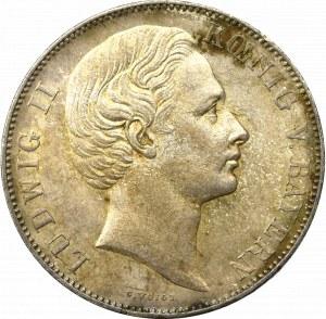 Germany, Bayern, Ludwig II, Taler 1867